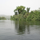 Banks of Volta river, Ghana